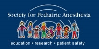 Society for pediatric anesthesia Logo